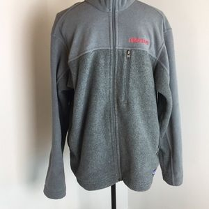 Patagonia Synchilla Front Zip Up Gray Jacket